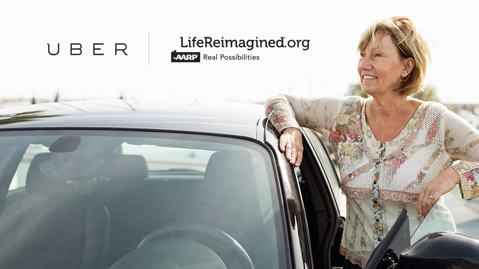 Uber Teams Up With Aarps Life Reimagined To Offer Economic