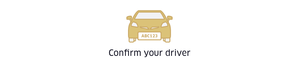 Confirm your driver