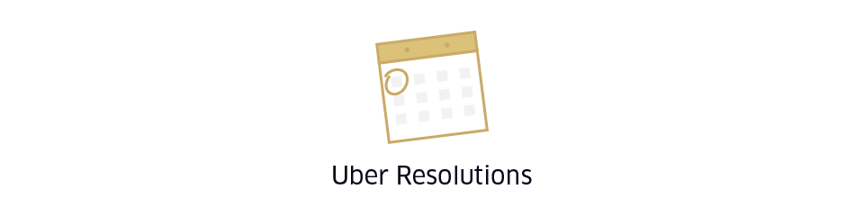 Uber Resolutions