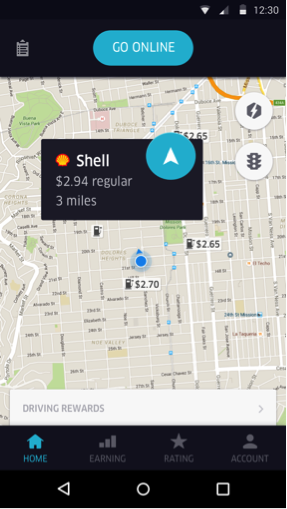 Navigate To The Closest Gas Station >> Refueling At Your Fingertips Uber Blog
