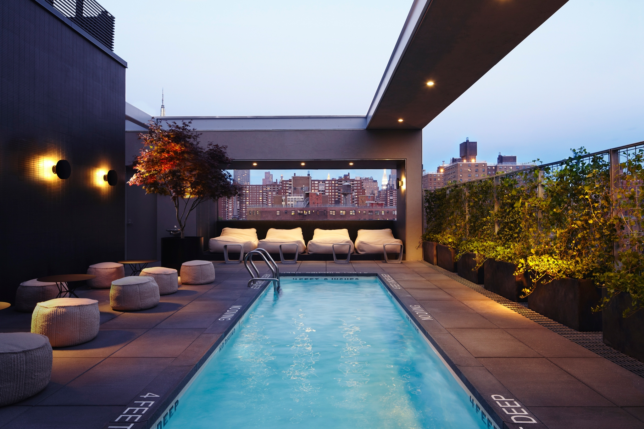 10 top hotel rooftop bars ranked by trip data