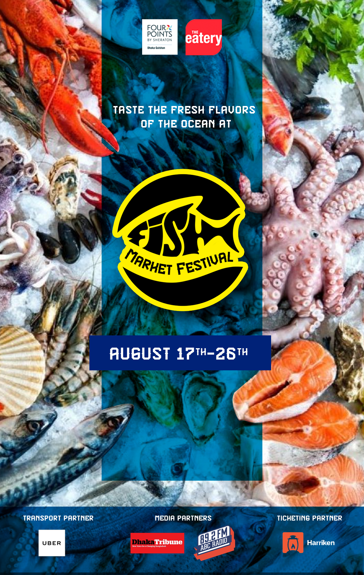 Win Vouchers Worth Tk 8000 For The Fish Market Festival At Four Points By Sheraton Dhaka