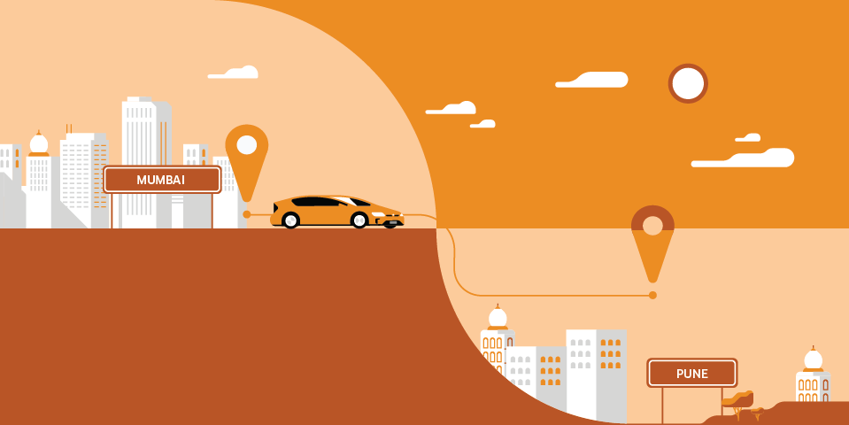 Introducing One Way Intercity Rides To Pune With Uberhire Uber Blog