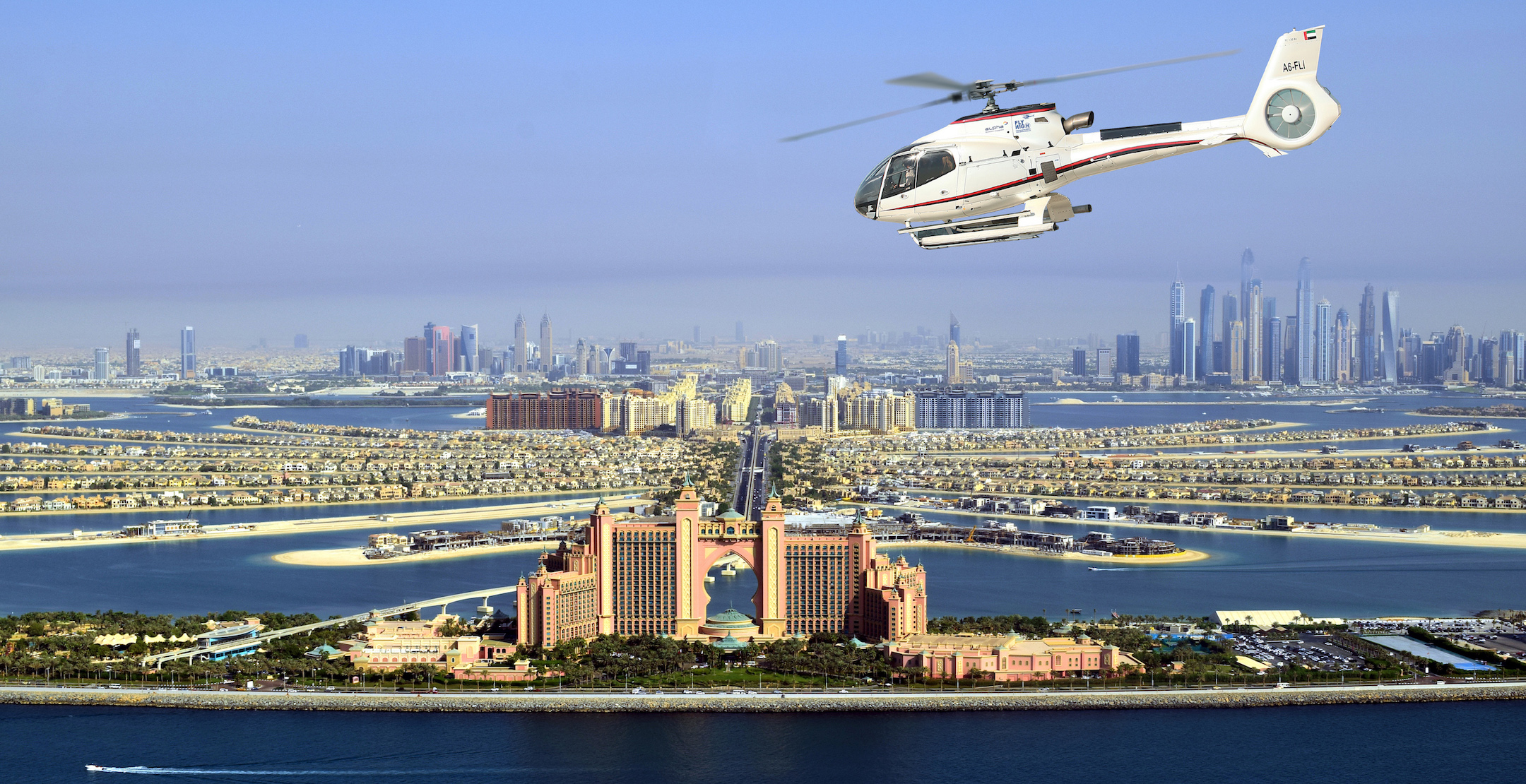 Dubai Your UberCHOPPER Is Landing Now