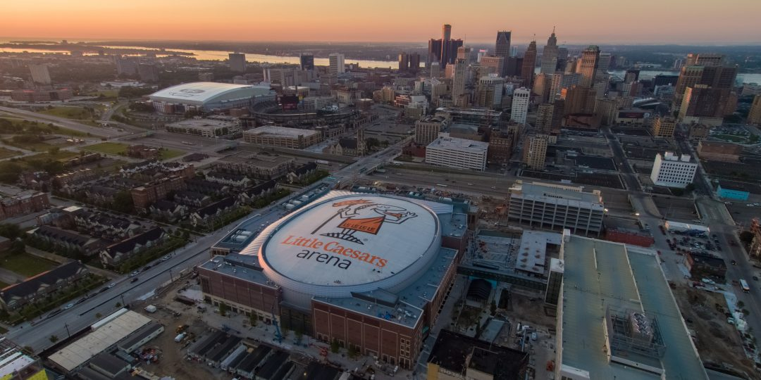 Teaming up with Little Caesars Arena for Detroit Red Wings