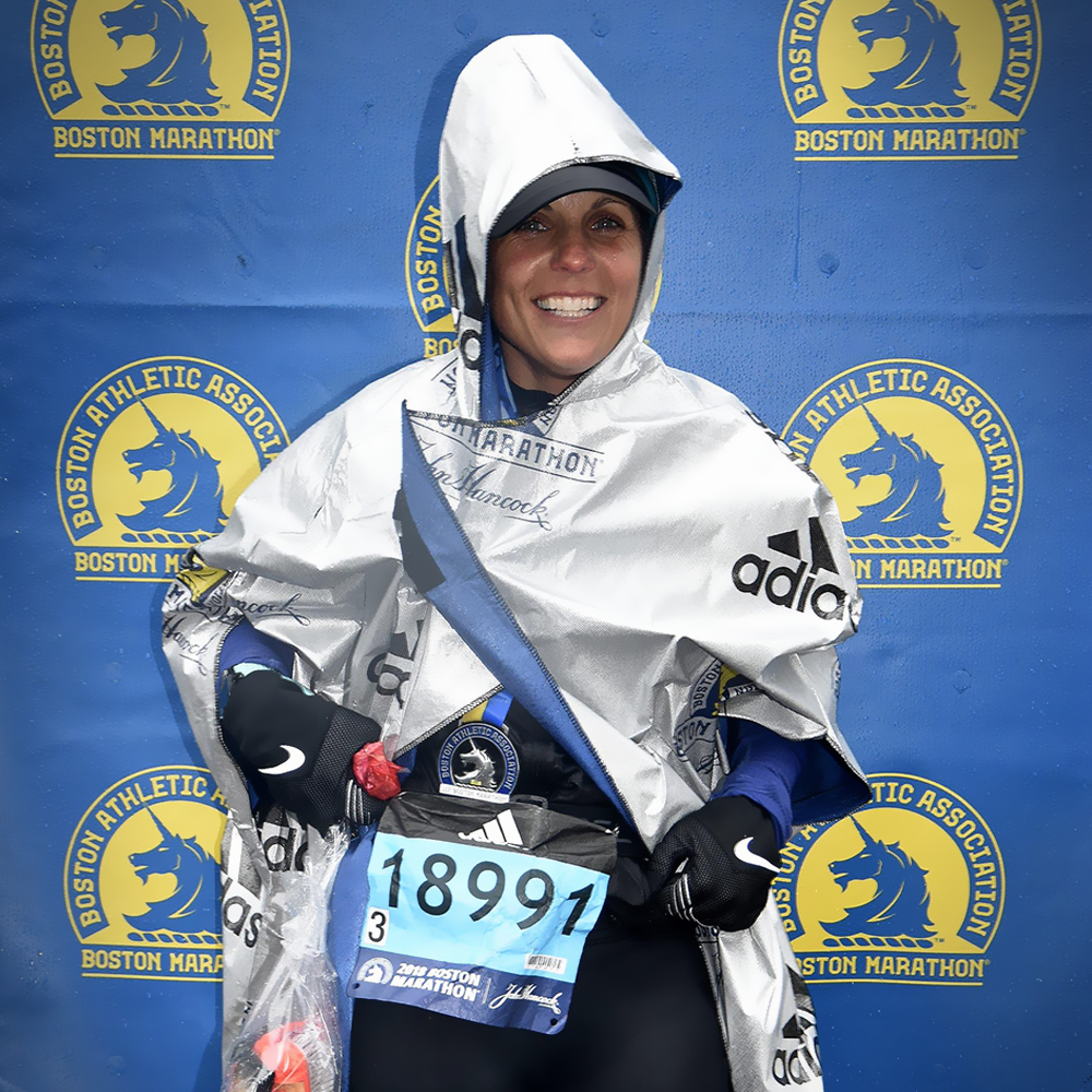 Boston Marathon, Marathon finisher
