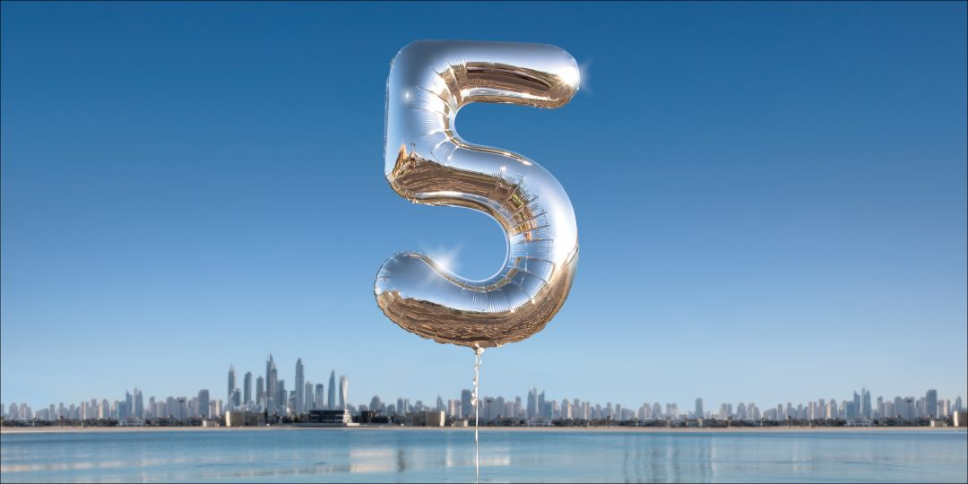 Celebrating 5 years in Dubai: Join the hunt to get 5 years