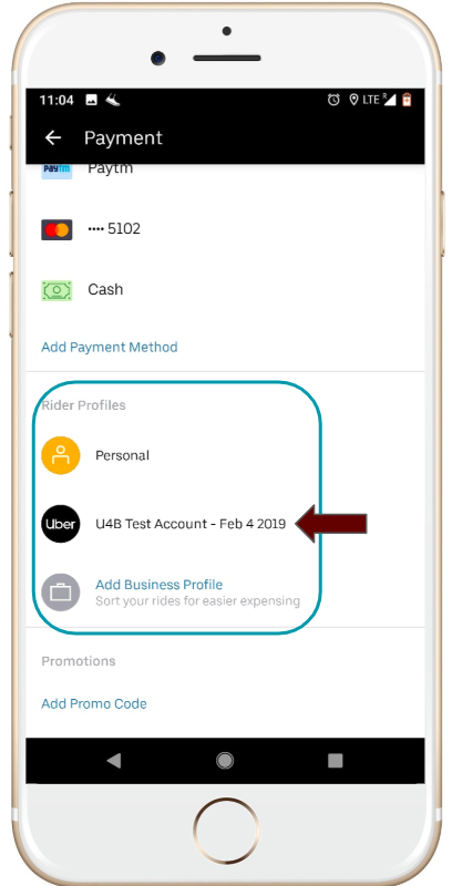 Activating your Uber for Business profile   Uber Blog