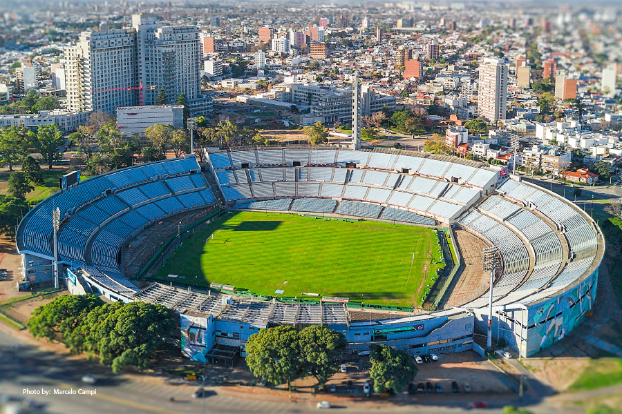 Estadio Centenario en Montevideo