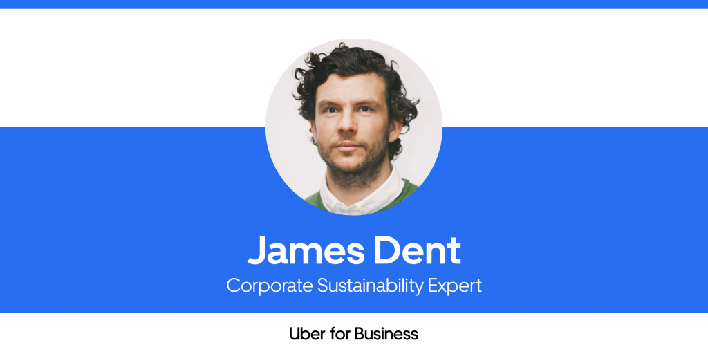 Sustainability articles: James Dent, Corporate Travel Sustainability Interview