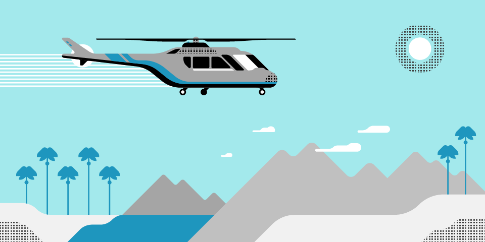 Soar To The Desert With UberCHOPPER