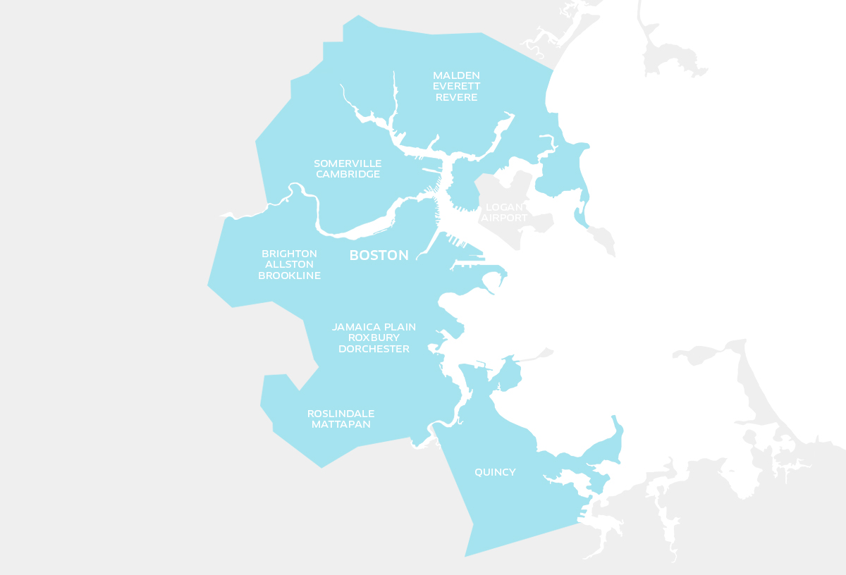 UberPOOLA New Way To Ride In Boston Uber Blog - Uberpool los angeles map