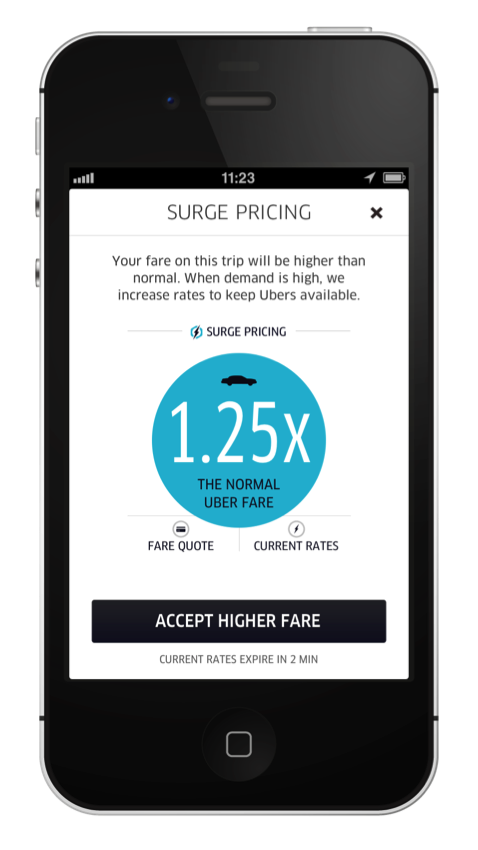 Surge Pricing Incentive Update Uber Blog