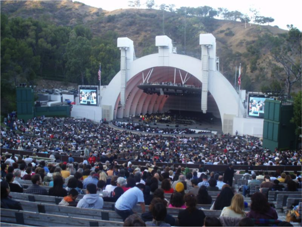 Uber la officially launched uber blog los angeles for Hollywood bowl terrace 5