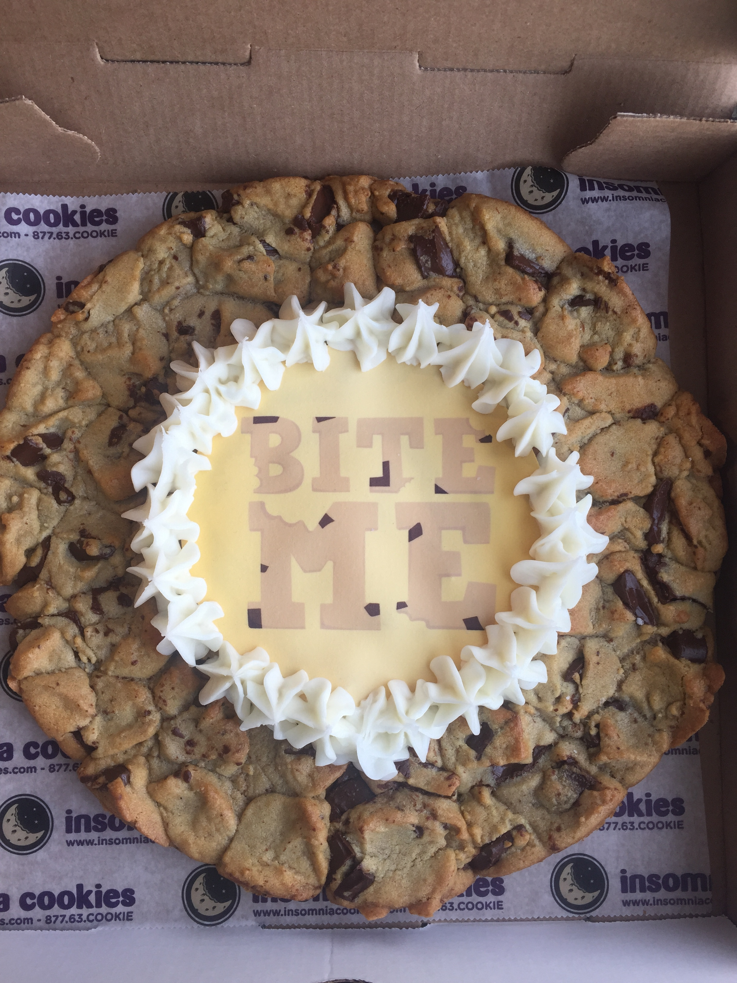 insomnia cookie cake you deserve a study courtesy of insomnia cookies 5161