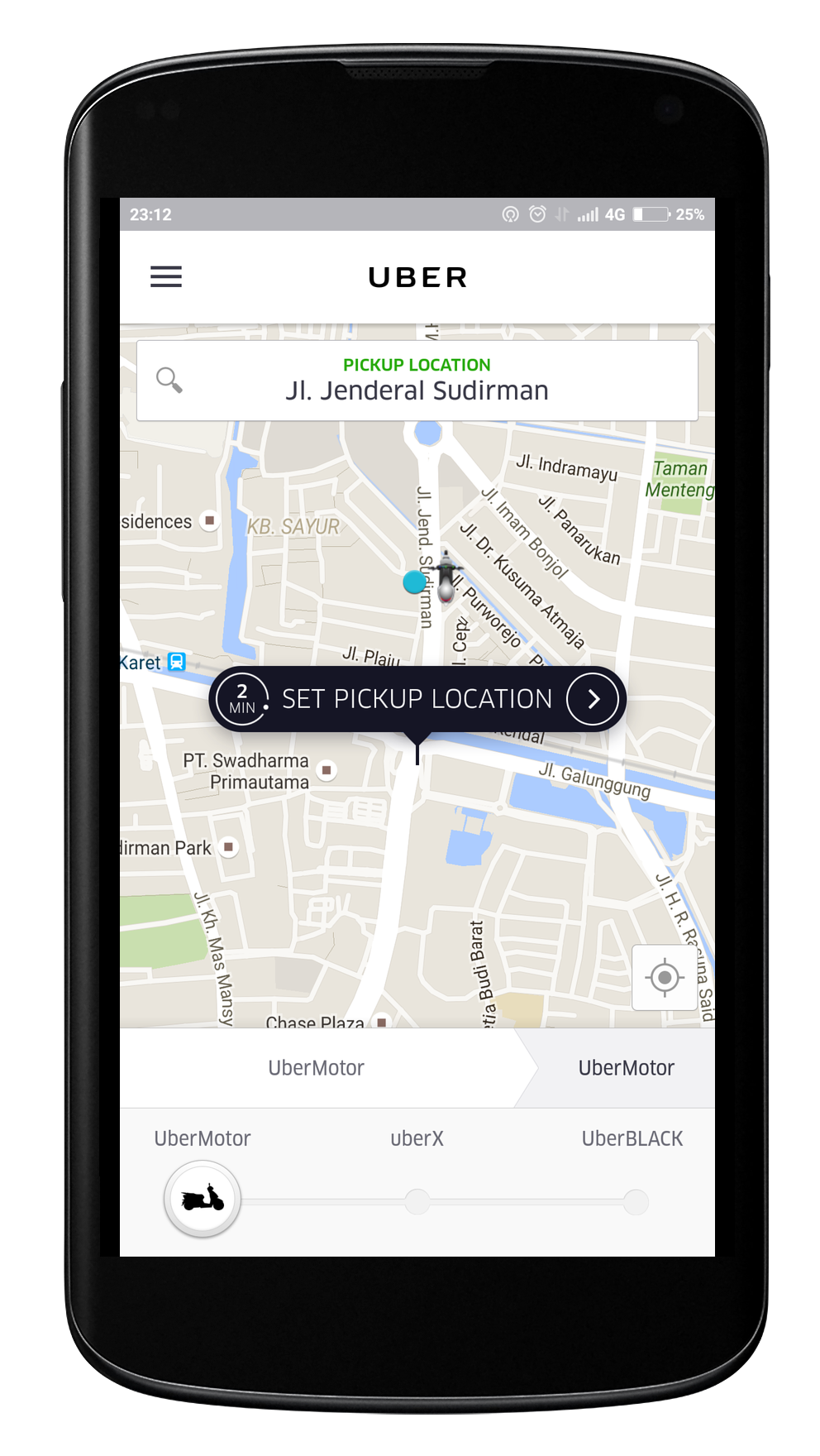 uberMOTOR Screenshot App copy