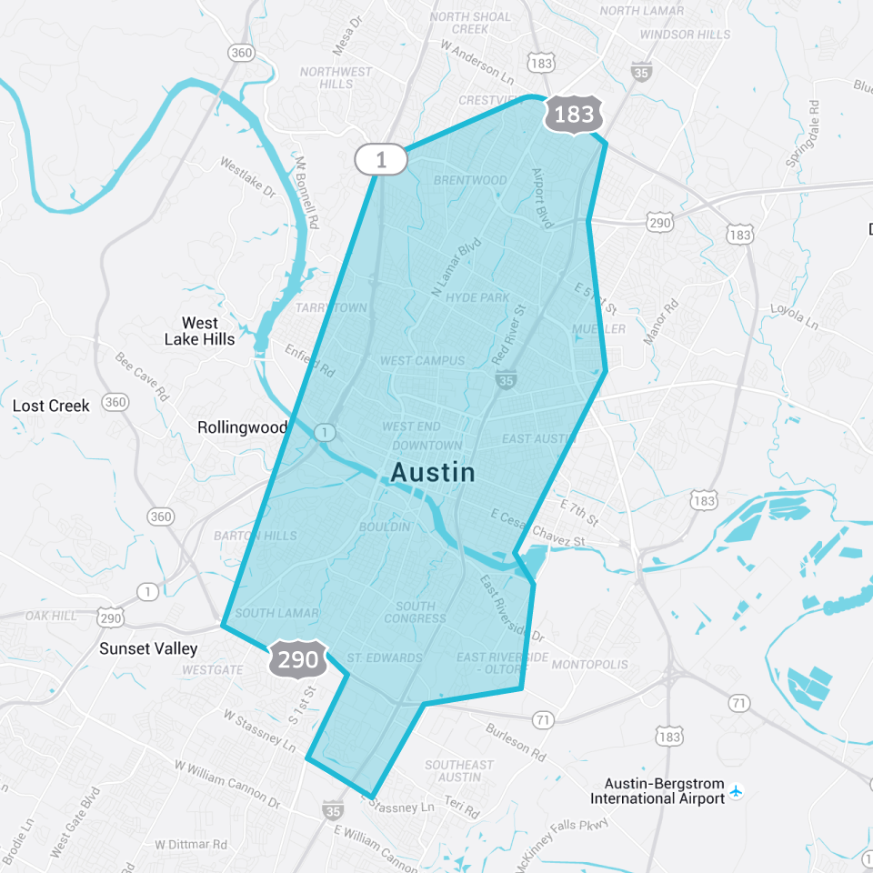 UberPOOL Now Available  In Austin Uber Blog - Uberpool los angeles map