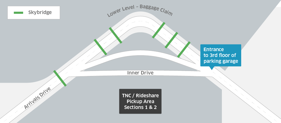 Seattle Map Airport.How To Request An Uber At Sea Tac Airport Uber Blog