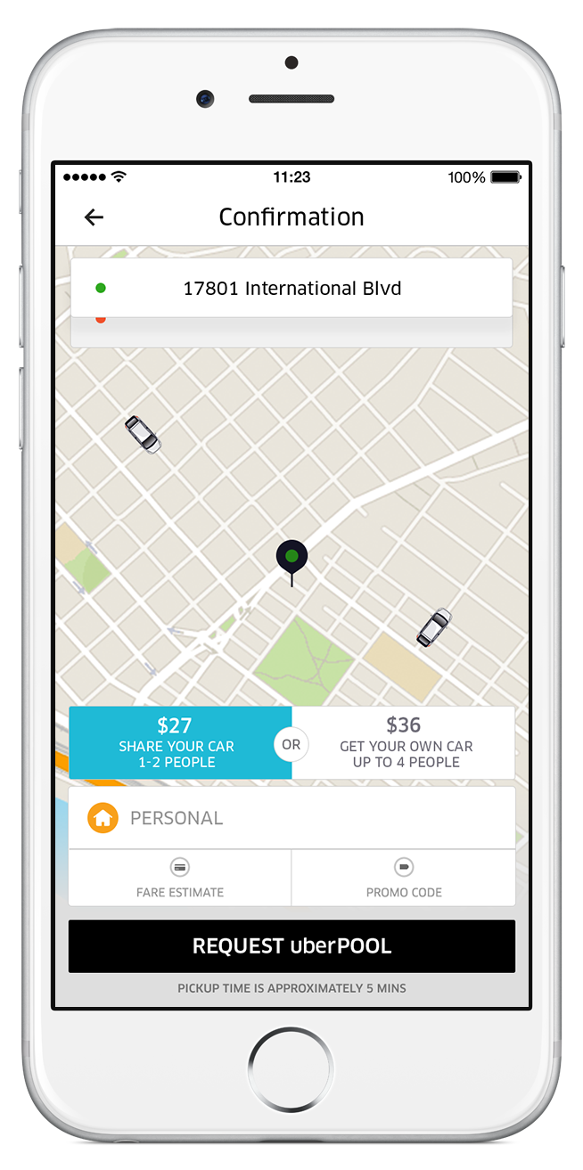 UberPOOL Is Now Available Across Town Uber Blog - Uberpool los angeles map