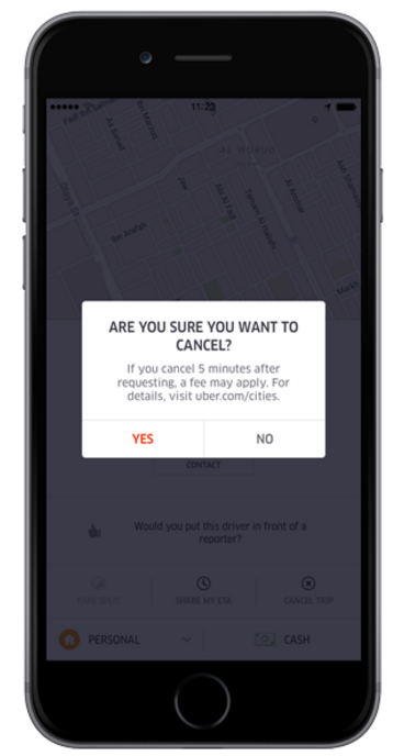 How To Cancel Uber >> Cash Cancellation Fee Uber Blog