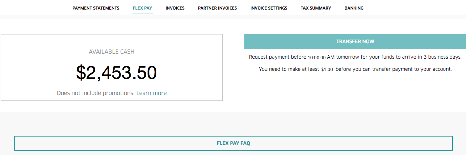 When Do Uber Drivers Get Paid >> Introducing Flex Pay | Uber Blog Australia